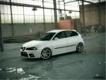 Seat Ibiza 6L_Stance by LucianP