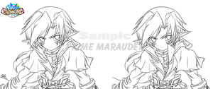 [Elsword RPs]Prime Marauder - Upper Body concept - by ClairSH