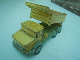 Classic truck in working order size 1/43 by lukke49