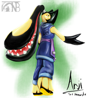 Pokemorphs - Mawile by kompy