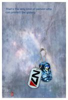 N7 dog tag by shatinn