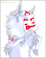 Okami Ammy, Teh silly face by onelilmonkey654