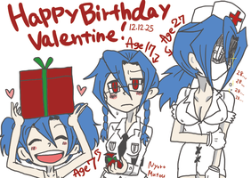 HAPPY BIRTHDAY Valentine! by MutouNyoro