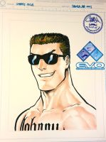 EVO2015 - Johnny Cage by theCHAMBA