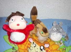 Small Ghibli Plush Collection 2012 by kratosisy
