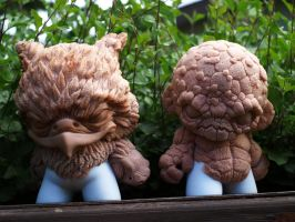 Earth and wind custom munny wip by VILORIA-ARTS