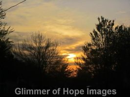 Sunset in Indiana by GlimmerofHopeImages