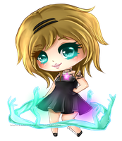 [Mini Chibi Com] for sweet-innocent-aura by Kazhmiran