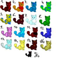 Fox adobtables for 10 pionts by AkitoPika