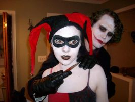 Joker and Harley Quinn by EmilyScissorhands