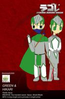 SDL: Profile Green and Hikari by blackdeath2000