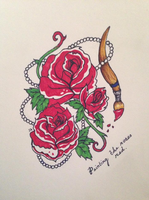 Flash Rose Painted by SierraBrittany