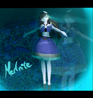 TDA MMD X S.U: My gemsona Merlinite+DL by ClariceTheGothPuppet