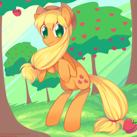 Bronycon 2012: Applejack by pekou