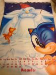 Sonic 1994 Official Calender by DazzyDrawingN2