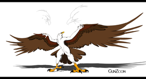 Golden Eagle concept by GunZcon