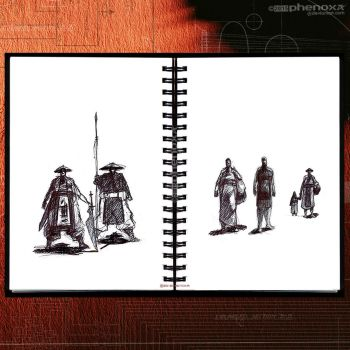 Sketch Works: Book 1 3 'a simple life' by phenoxa