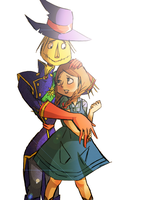 Scarecrow/Dorothy by DontbeModest