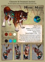 Character Auction - Maya - Closed by soulofwinter