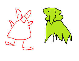 Spongebob: Squidward x Mr. Krabs by mspaintmasterpieces