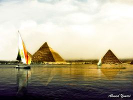 The Great Pyramids by ahmedyousri