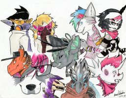 LAPFOX TRIBUTE by LeonidasDraconic