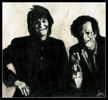 A Couple Of Rolling Stones by stuckey