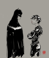 The Cat and the Bat by rifram