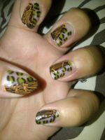 crackle and animal print by pierrettepaola