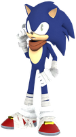 Sonic the Hedgehog Pose 2 by JaysonJean