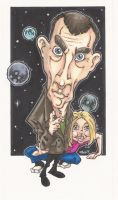 THE DOCTOR AND ROSE caricature by leagueof1