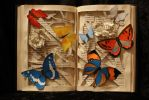Butterfly Book Sculpture by wetcanvas