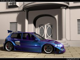 Widebody EG6 Final No CF by ragingpixels