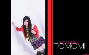 TOMOMI of SCANDAL wallpaper by xalleonlatsyrc