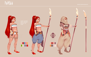 [P] Reference Sheet: Gayora by MMXII