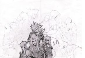 Kingdom Hearts II WIP 2 by nothing111111