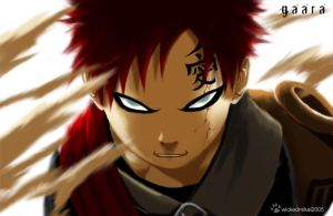 gaara by wickedmikel