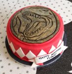 Power Rangers Cake - Red Ranger by estranged-illusions
