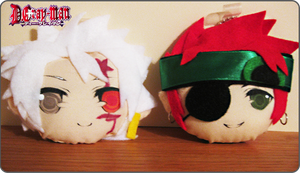 DGM Plush Keychains by Cubic-Factory