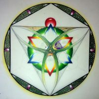 Unfinished Mandala by dlighted