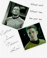 Golden Trio Part 1: Kirk (Star Trek TOS and AOS) by GaHoolianGirl