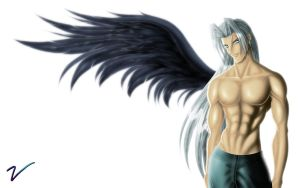 Sephiroth - safe version by bluevampyre