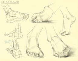 Hampton p.215-217: L/E - Foot Studies III by theThirdCartel