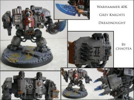 Grey Knight Dreadnought by chaotea
