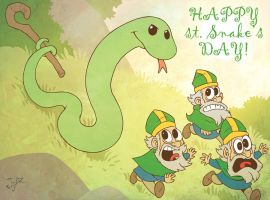 Happy st.Snake's Day! by JjAR01
