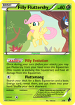 Filly Fluttershy by dmon2