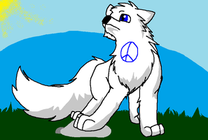 Fan art for peace wolf! by Obsidianthewolf