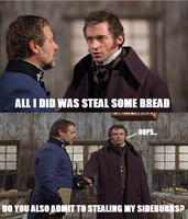 Really, 24601? Was It Only Bread That You Stole? by MonsieurArtiste