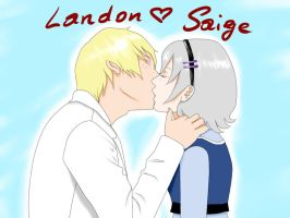 Landon and Saige by megaraburabu