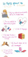 10 Facts about me. by LilyLiddellink